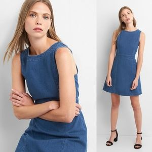 Gap Denim Fit and Flare Dress